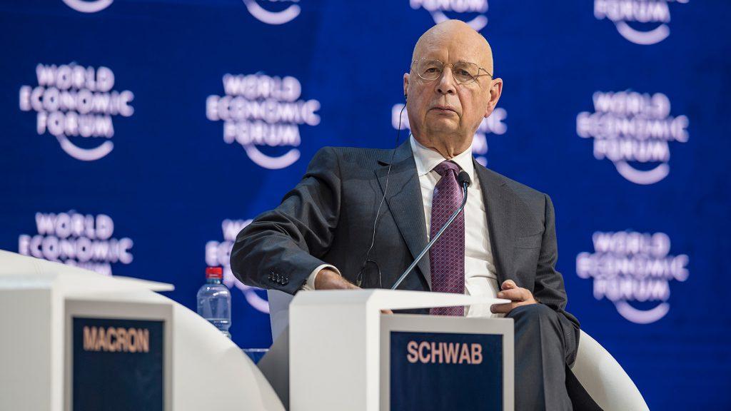 Prof Klaus Schwab, Gründer und Geschäftsführender Vorsitzender des Weltwirtschaftsforums.